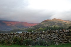 Llanberis (LauraEvelynEdwards) Tags: sunset mountains wales clouds landscapes countryside unitedkingdom lakes hills rivers streams llanberis snowdonia snowden cloudporn rollinghills britishcountryside landscapephotography mountainwalks