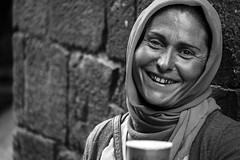 Roma Gypsy, BCN (www.barcelonatoursonline.es) Tags: barcelona blackandwhite faces gypsy raval fujixpro1 fujinonxf55200mm