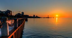 Sunrise Spencer Smith Park, Burlington, Ontario (dekard72) Tags: park lake sunrise pier nikon smith spencer lakeontario d800 2470 spencersmithpark nikon2470 nikond800 spencersmithparkpier