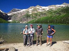 at Gunsight Lake (jcoutside) Tags: montana backpacking glaciernationalpark