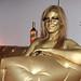 Johnnie Walker Gold Bullion Body Painting Sydney