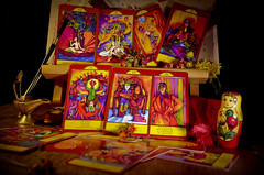 THE GYPSY PALACE TAROT (GypsyPalace) Tags: new art cards reading major oracle colorful artist magick handmade magic fortune waite deck nora card age tarot prints spiritual minor limited gypsy rider fortuneteller telling arcana teller signed gipsy wahrsager esoterics huszka
