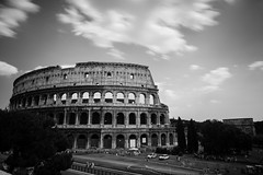 The Colosseum (SamHunter) Tags: italy white black rome canon colosseum 1635 nd110 5d2