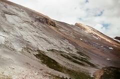 Face (Grace Gockel) Tags: park summer canada mountains film analog vintage olympus national banff analogue om1n