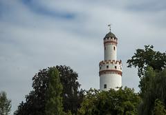 Weier Turm von Schloss Park (GIgaYork) Tags: trees germany bad turm weiser badhomburg weisserturm homburg