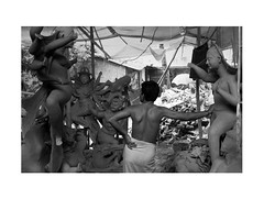 She is coming again (Iftekhar Jamil) Tags: festival ma nikon artist force mud religion goddess structure celebration negative idol figure dhaka hindu bangladesh puja idols durga maa d90 kumor