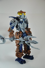 Tallix the Metal Knight (Bio Cup Round 6) (Toa Phosphorus) Tags: 6 cup lego bio round bionicle toa phosphorus infernum 2013 tallix