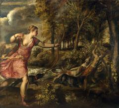 The Death of Actaeon (lluisribesmateu1969) Tags: london nationalgallery titian mythology nude 16thcentury