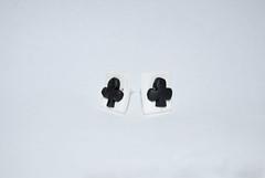 carte da gioco-fimo (syrhie) Tags: handmade fimo orecchini cartedagioco