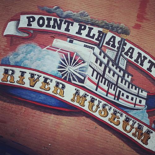 River Museum #mothman #point #fieldtrip #lchspride #pioneer