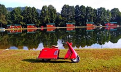 '53 Allstate by Cushman (Howard33) Tags: deluxe sears scooter artdeco motor allstate cushman 1953 howard33