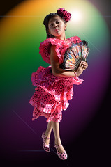 Spanish Geisha (baralunacy) Tags: barcelona portrait photoshop lensflare gradient cutegirl innerchild lightingeffects polkadotdress adobefilters polkadotshoes barcalunacy ificandoityoucantoo backgroundextracted spanishgeisha