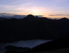 The End of the Day (bookhouse boy) Tags: autumn sunset mountains alps fall sonnenuntergang herbst berge alpen schliersee spitzingsee 2013 mangfallgebirge roskopf haushameralm 31oktober2013 grnseealm
