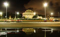 Vivekanandha Memorial (Parthasarathy.S.K) Tags: nightphotography india beach canon photography slowshutter marinabeach chennai vivekanandha incredibleindia parthasarathy chennaiweekendclickers canoneos1100d partha14 parthasarathysk vivekanandhamemorial