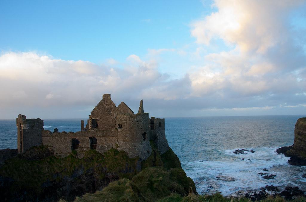 фото: Dunluce Castle, Northern Ireland
