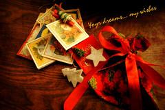 ...   ! (Dia A.  Mavrokirkinezo) Tags: love cards happy nikon holidays joy decoration presents dreams wishes    d3000       christmas2013 2013