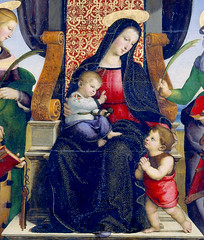 (petrus.agricola) Tags: new york museum madonna raphael santi metropolitan colonna altarpiece raffaelo sanzio predella