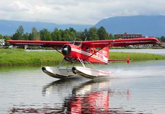 N2740X (John W Olafson) Tags: alaska beaver takeoff seaplane dehavilland lakehood bushplane dhc2 rusts n2740x