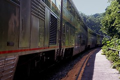 Superliners (t55z) Tags: train amtrak westvirginia harpersferry superliner capitollimited