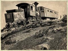 Mountain Climber (Wes Iversen) Tags: mountains trails newhampshire locomotives mountwashington hcs steamengines clichsaturday