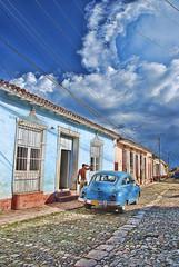 Trinidad (Cuba) (2014).- (ancama_99(toni)) Tags: auto vacation sky people cloud car clouds nikon gente cuba coche cielo trinidad caribbean vacaciones nube kuba 1000views caribe 2014 cubano 10favs 10faves núbes blinkagain