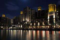 Madinat Jumeirah (Ivaylo MK) Tags: city longexposure travel canon photography dubai nightlights tripod