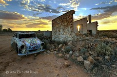 From the other side (PhotoArt Images) Tags: sunset abandoned silverton australia nsw hdr brokenhill ruined australianoutback photomatix outbacknsw photoartimages