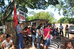 Paulistnia 2014-01-29 - Posse da terra da Fazenda Tropical para o INCRA (30) (Ana Perugini) Tags: pt assentamento paulicia anaperugini