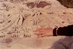 Il Foro Romano Ruins With Mandy's Hand (pcurto) Tags: wedding portrait stone engagement hand roman ruin carving frieze rings beautifulwomen canonftql