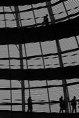 Secrets (RosLol) Tags: people blackandwhite bw berlin silhouette architecture germany gente persone reichstag foster dome bundestag architettura biancoenero germania lifeinthecity berlino roslol