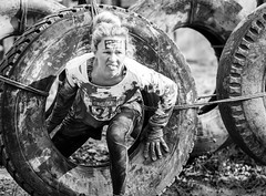 Tyred And Exhausted (Sean Batten) Tags: england blackandwhite bw nikon mud unitedkingdom surrey type dorking 70200 d800 newdigate nutschallenge swiresfarm