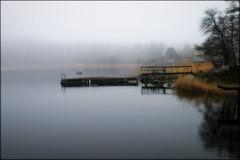 Silence (*Kicki*) Tags: grisslehamn roslagen misty mist fog foggy dimma sweden väddö explore flickrexplore explored calm jetty silence soft spring