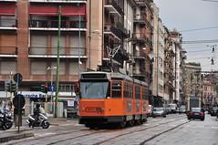 Fiat Ferroviaria Series 4900 #4915 ATM Milano Mediolan (3x105Na) Tags: italy 3 fiat milano tram series 4900 atm tramwaj ferroviaria włochy mediolan 4915