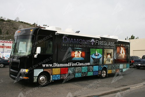 Full Rv wrap graphics diamond los angles, ca