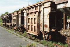Northern Ireland Railways Spoil Wagons / Ballast (Northern Ireland Railfan) Tags: from ireland for motorway belfast here made torch area were they 1960s these create northern railways which m2 m5 quarry mid 1990s ballymena carrying wagons ballast await spoil scrappers occupies magheramorne