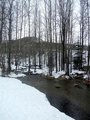 Big Hill Springs Walk - Start of walk (benlarhome) Tags: winter canada trekking trek spring hiking path hike trail alberta cochrane bighillsprings