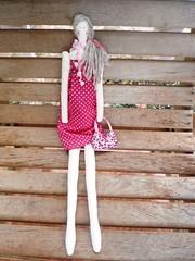 Tilda 60's (GarotaECO Atelie) Tags: doll boneca tilda corderosa