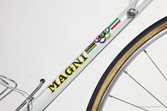 PEP Magni (late 70's) (OfficineSfera) Tags: leather bicycle san super record marco 1970 regina 1980 pep giovanni oro nisi campagnolo peppino losa magni concor vittuone almarc