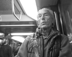 DSCF1860 (sergedignazio) Tags: street paris france photography blackwhite noir photographie nb rue blanc homme rer reportage vif humain humaniste x100s