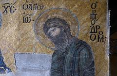 John, Deësis mosaic, Hagia Sophia