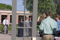 2014-05-24 Okoboji wedding at Arrowwood Resort (eddie.spaghetti) Tags: wedding party window groom doug ceremony iowa tuxedo ia lookingglass peggy hank weddingday tux motherofthegroom 2014 okoboji outdoorwedding fatherofthegroom photobyed b4wedding 2014may b4reedwiersonwedding