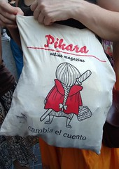 MANI Ley Mordaza - social (Fotos de Camisetas de SANTI OCHOA) Tags: arma feminismo publicacion