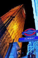 salida de subte... (ed estrada) Tags: london westminster thames bigben londres tmesis