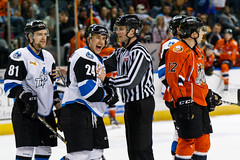 "Missouri Mavericks vs. Wichita Thunder, February 7, 2017, Silverstein Eye Centers Arena, Independence, Missouri.  Photo: John Howe / Howe Creative Photography • <a style=""font-size:0.8em;"" href=""http://www.flickr.com/photos/134016632@N02/32422664870/"" target=""_blank"">View on Flickr</a>"