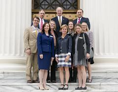 02-15-17 Governor Bentley with USA Representatives