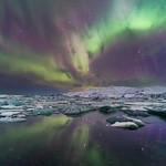 'Lagoon Lightshow' - Jökulsárlón, Iceland thumbnail
