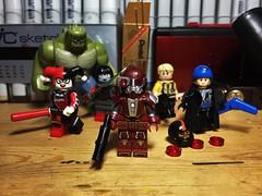 Deadshot (Lord Allo) Tags: lego dc deadshot suicide squad harley quinn captain boomerang katana killer croc rick flag