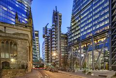 Lloyd's of London (david.bank (www.david-bank.com)) Tags: lloydsoflondon england uk bluehour dusk