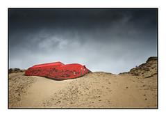Le bunker rouge (Rémi Marchand) Tags: bunker blockhaus lègecapferret casemate cap ferret dune sable océan atlantique vestiges gironde nouvelle aquitaine rouge mur atlantic wall
