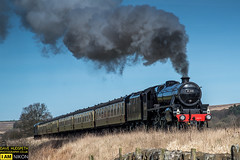 45212 on the NYMY (dave hudspeth photography) Tags: steam railway nymr iconic yorkshire famous davehudspeth tarnsport tracksmoke oil coal water black royalscot royal black5